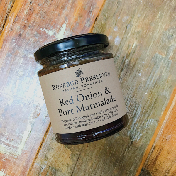 Red Onion and Port Marmalade