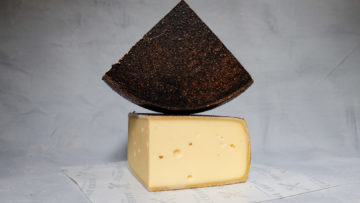 Affineur Walo Red Wine Farmer Cheese