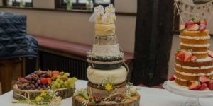 'Cheese'cake at a Wedding? Yes Please!
