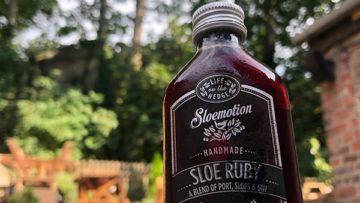 Sloemotion Sloe Ruby Liqueur, Gin 5cl