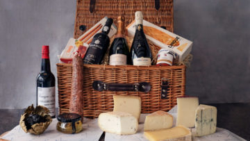 Highlights from the Continent Cheese Hamper