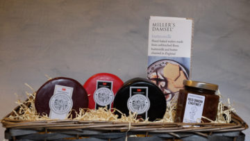 Welsh Cheese Gift Basket