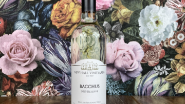New Hall Vineyard Bacchus White Wine