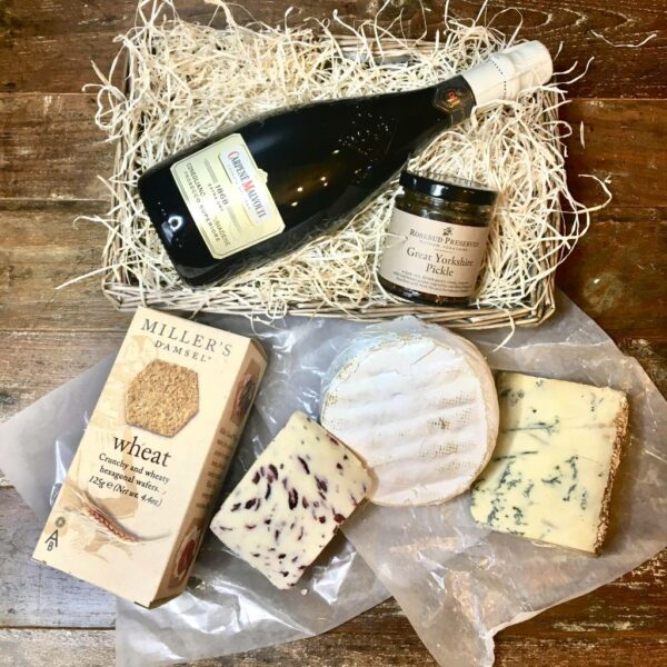 Love Cheese loves Mums Cheese and Wine Selection for 1