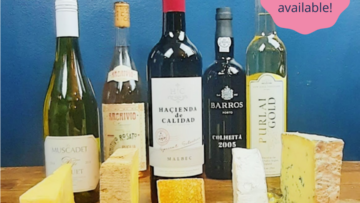 Virtual Port and Cheese Tasting Experience – Saturday 11th December