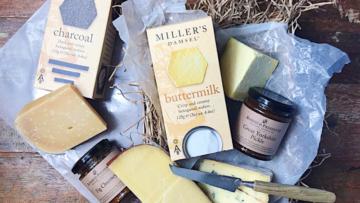 Baby Joy Cheese Selection Gift Basket