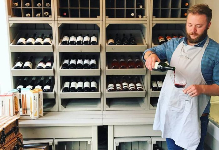 harry and wine cabinet